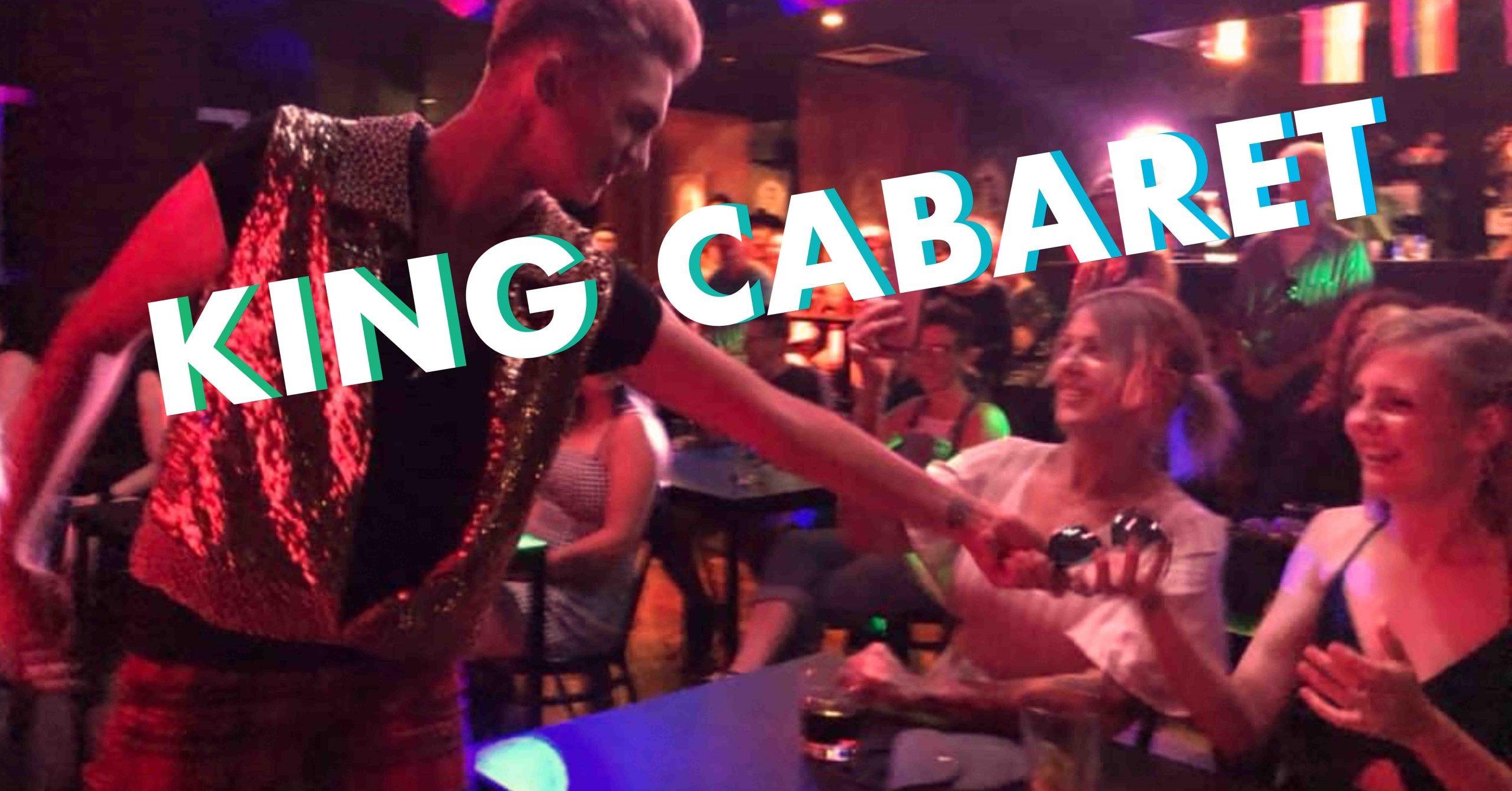 KING CABARET Website Banner